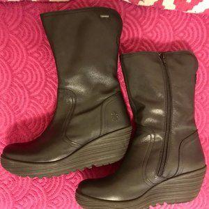 Fly London Yups waterproof wedge boots